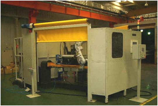 汽车排气系统机器人焊接系统