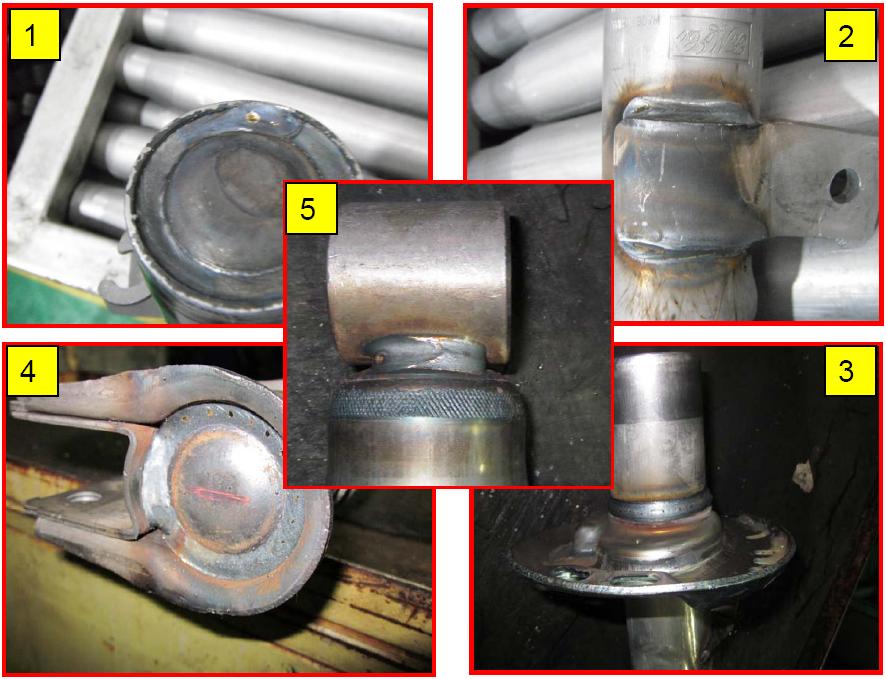 松下350GL4焊机减震器焊接工艺