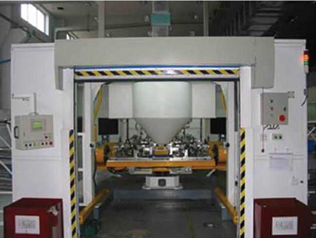 汽车座椅骨架的机器人系统焊接