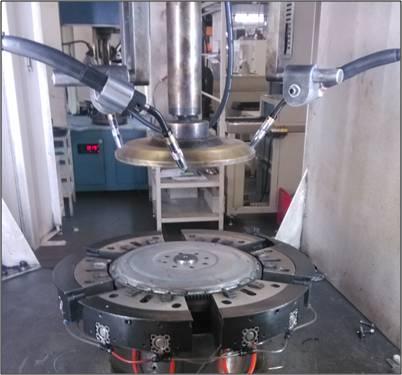 松下350GS4焊机汽车飞轮焊接工艺
