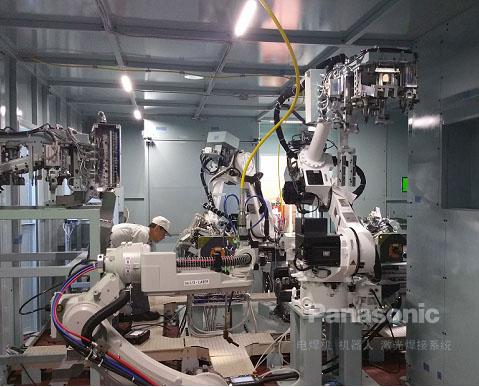 消音器激光焊接生产线